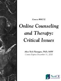 Online Counseling And Therapy Critical Issues