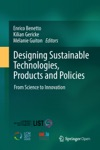 Designing Sustainable Technologies Products And Policies