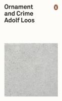 Adolf Loos - Ornament and Crime artwork