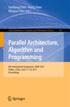 Parallel Architecture Algorithm And Programming