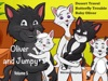 Children Books: Oliver and Jumpy - the Cat Series, Stories 13-15, Book 5