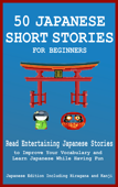 50 Japanese Short Stories for Beginners Book Cover