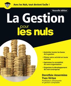 La Gestion pour les Nuls grand format, 2e édition La couverture du livre martien
