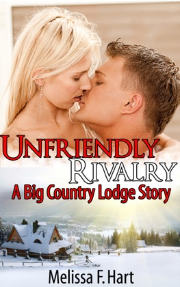 Unfriendly Rivalry (A Big Country Lodge Story, Book 3) (Erotic Romance - Holiday Romance) image