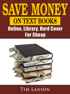 Save Money on Text Books, Online, Library, Hard Cover, For Cheap Capa de livro