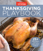 America's Test Kitchen Thanksgiving Playbook Book Cover