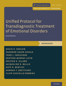 Unified Protocol for Transdiagnostic Treatment of Emotional Disorders Copertina del libro