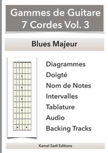 Gammes de Guitare 7 Cordes Vol. 3 La couverture du livre martien
