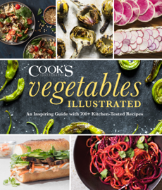 Vegetables Illustrated book