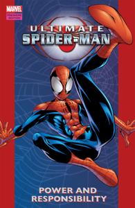 Ultimate Spider-Man, Vol. 1: Power and Responsibility Boekomslag