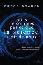 Nous Ne Sommes Pas Ce Que La Science à Dit De Nous