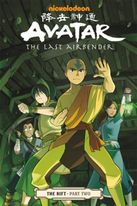 Avatar: The Last Airbender - The Rift Part 2 Copertina del libro