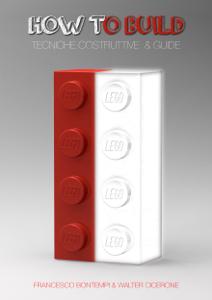 Lego how to build Copertina del libro