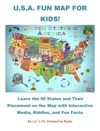 USA Fun Map For Kids