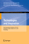 Technologies And Innovation