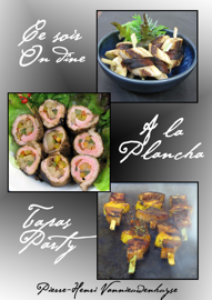 Ce soir on dine à la plancha : Tapas party