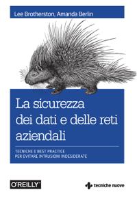 La sicurezza dei dati e delle reti aziendali Copertina del libro