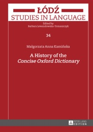 A HISTORY OF THE CONCISE OXFORD DICTIONARY