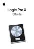 Apple Inc. - Logic Pro X Effekte Grafik