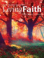 Terence Hegarty - Living Faith October, November, December 2018 artwork