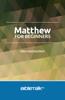Mike Mazzalongo - Matthew for Beginners artwork