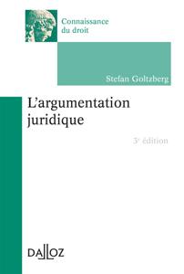 L'argumentation juridique La couverture du livre martien