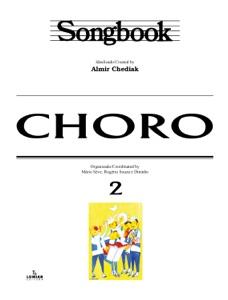 Songbook Choro - vol. 2 Book Cover