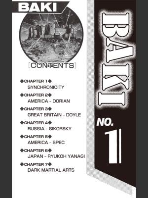 BAKI Volume 1