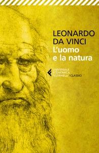 L'uomo e la natura di Leonardo da Vinci Copertina del libro