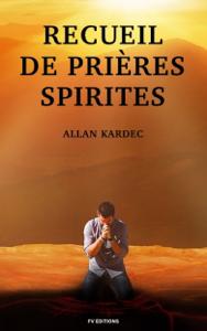 Recueil de Prières Spirites La couverture du livre martien