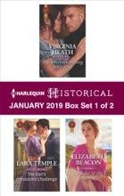 Harlequin Historical January 2019 - Box Set 1 Of 2