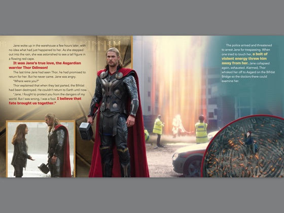 ‎Thor: The Dark World Read-Along Storybook