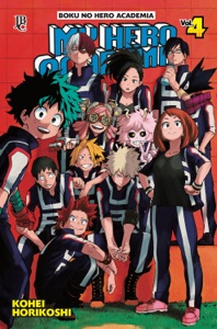 My Hero Academia vol. 04 Book Cover