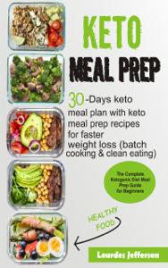 Keto Meal Prep Cookbook Copertina del libro