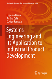 Systems Engineering and Its Application to Industrial Product Development book
