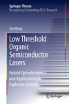 Low Threshold Organic Semiconductor Lasers
