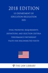 Final Priorities Requirements Definitions And Selection Criteria - Performance Partnership Pilots For Disconnected Youth US Department Of Education Regulation ED 2018 Edition
