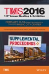 TMS 2016 Supplemental Proceedings