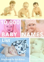 10,000 Baby Names List: Baby Names for Girls & Baby Names for Boys