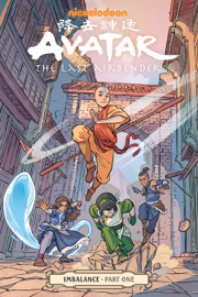 Avatar: The Last Airbender-Imbalance Part One book