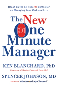 The New One Minute Manager Libro Cover