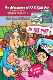 The Adventures Of Pj And Split Pea In The Pink In English Spanish