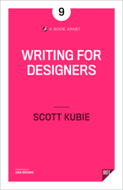 Writing for Designers book
