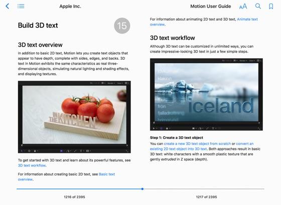 Motion User Guide on Apple Books