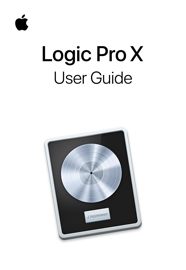 Logic Pro X User Guide book