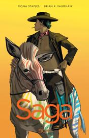 Saga Vol. 8 book