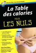 Table des calories Pour les Nuls