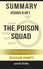 Summary: Deborah Blum's The Poison Squad
