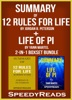 Summary of 12 Rules for Life: An Antidote to Chaos by Jordan B. Peterson + Summary of Life of Pi by Yann Martel
