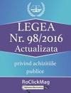 Legea 982016 Privind Achizitiile Publice